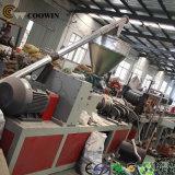Linea di produzione composita del rivestimento di Decking/della plastica di legno ad alto rendimento