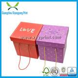 贅沢なペーパー結婚祝いボックス包装