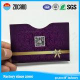 Papel de proteção RFID da informação que obstrui o suporte de cartão do crédito