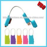 Новый кабель данным по Keychain Micro+for iPhone4 типа (CS-020)