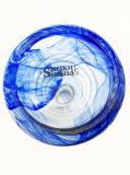 De overzeese Blauwe Waterpijp Shisha van het Glas met Toebehoren van een de Vastgestelde Waterpijp (S-hs-003)