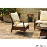 Jogos ao ar livre do sofá, mobília do Rattan do pátio, jogos do sofá do jardim (SF-350)