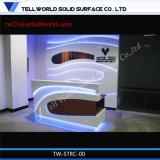 Стол приема салона центра пригодности высокорослый с задней индикацией стены