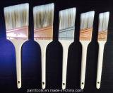 Cepillo afilado sólido del filamento con la maneta de madera de abedul de Rattail