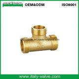 ISO9001 ha certificato il capezzolo/accessorio per tubi diritti forgiati ottone (AV9001)