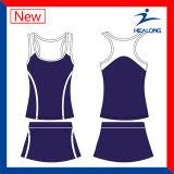 Vestiti da tennis poco costosi di anni dell'adolescenza di disegno di modo dell'abito di prezzi di Healong Cina da vendere