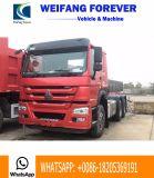 2017 rotella di modello 6X4 10 371HP, 380HP, 420HP di Sinotruk HOWO 7 con il doppio camion utilizzato del trattore dell'asse motore di riduzione, motore primo dell'usato