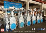 API 6D de la válvula de compuerta plana de acero al carbono con volante