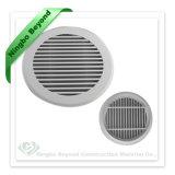 De witte Luifel van het Weer van de Zijwand van het Aluminium van de Ventilatie van de Kleur Waterdichte voor HVAC