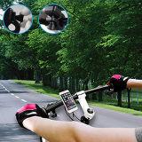 携帯電話のシートロックが付いている高品質のバイクの台紙の移動式ホールダーは絶食する