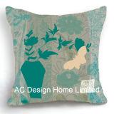 Красивую площадь сиреневого Дизайн ткань подушка с заполнением