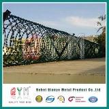 Bto-10アコーディオン式の十字かみそりの鉄条網の/Prisonかみそりの鉄条網