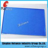 8 mm de verre flotté teinté bleu foncé avec ce/ISO