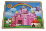 Schloss-hölzernes Puzzle spielt (33817)