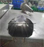 虐殺機械ラインのステンレス鋼のパッキング漏斗