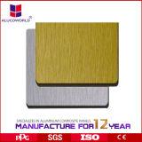 좋은 품질 미러에 의하여 솔질되는 ACP 알루미늄 클래딩