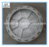 Крышка люка -лаза водоснабжения BS En124 круглая