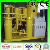 Épurateur d'huile de graissage de vide de Tya, pétrole réutilisant la machine