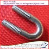 Bulloni ad alta resistenza di figura del acciaio al carbonio U Bolt/U