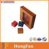 Cadre de papier d'emballage de bijou de qualité/boîte-cadeau de papier
