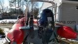 Шлюпка нервюры стеклоткани Aqualand 19feet 5.8m раздувная/твердая раздувная шлюпка мотора/подныривание/спасение/патруль (rib580t)