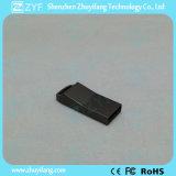 2017ロゴ(ZYF1768)の新しい小型黒い金属USBのフラッシュ駆動機構