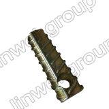 プレキャストコンクリートのアクセサリ(M12X100)の円形のフェルールの糸の鋼鉄持ち上がるソケット