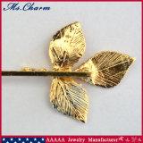 Pince Faite en forme de lame d'enveloppe en or de placage