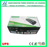 inverseur du véhicule 3000W avec le chargeur d'UPS et l'affichage numérique (QW-M3000UPS)