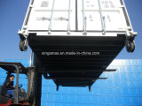 20 pés isolaram o recipiente do equipamento