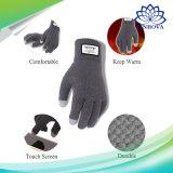 Uitstekende kwaliteit van de Handschoenen van de Aanraking van de winter maakt de het Scherm Gebreide de Warme Stevige Handschoenen van het Kasjmier van de Wol dik
