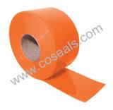 Bernsteinfarbiger Belüftung-Streifen-Vorhang für Lebensmittelindustrie