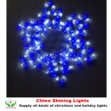 La corda illumina la decorazione di festa di natale degli indicatori luminosi di motivo del LED