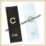 Schwarz (sw500blk) aussondern/doppelte Seite gesponnenes Rand-Polyester-Satin-Farbband