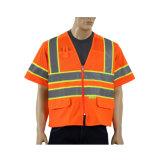 Maglia riflettente di sicurezza stradale della strada riflettente poco costosa all'ingrosso della maglia