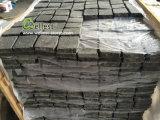 Ячеистые Wellest базальтовой асфальтирование камня, G684 Fortune Cube черного цвета камня в зацепление, Верхняя Flamed, других природных