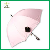 Parapluie en cuir synthétique de pluie très Nice de seule de fille qualité du Japon avec imperméable à l'eau