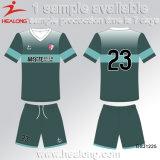 Популярная одежда с любым футболом Джерси сублимации краски логоса