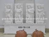 Sculpture en marbre sculpté (soulagement des anges)
