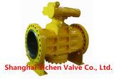 Válvula de enchimento lubrificada com flange de pressão invertida (AX47W)