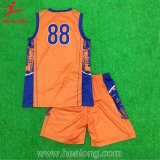 Healong desgaste del deporte barato sublimación personalizadas Camisetas de baloncesto