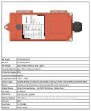 De controle remoto sem fio da distância 220V do controle da canaleta 433MHz 100m de Telecrane F24-6s/D 6 do preço de fábrica