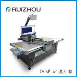 Ruizhou CNC-lederne Ausschnitt-Maschine für Gewebe-Tuch-Leder