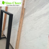 Heißer Verkaufs-natürliche weiße Marmorsteinplatte für Esszimmer-Fußboden