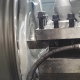 車の合金の車輪CNCの旋盤の縁修理機械Awr28hpc