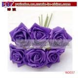 Consegna del fiore della Rosa di cerimonia nuziale del fiore artificiale da Florist per il giorno del biglietto di S. Valentino (W2036)