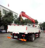 De 3 tonnes grue télescopique monté sur camion avec grue pour la vente