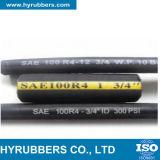 Boyau R4 en caoutchouc hydraulique industriel de SAE 100