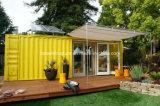 2015 가벼운 강철 아름다운 디자인 조립식 콘테이너 집