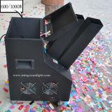 Máquina del confeti del papel del equipo de la etapa del efecto de etapa 600With1000W